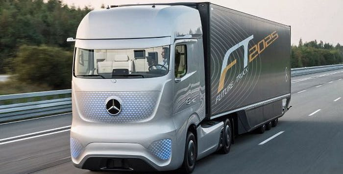 Driverless lorries could be tested on UK roads