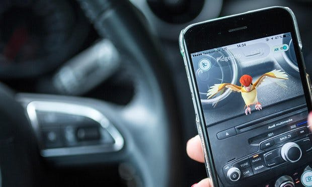 RAC warns motorists against Pokemon Go when driving